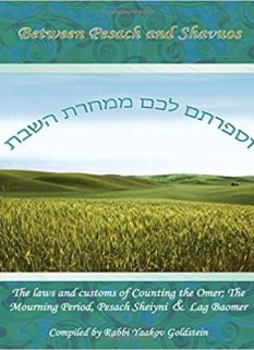 Between Pesach and Shavuos
